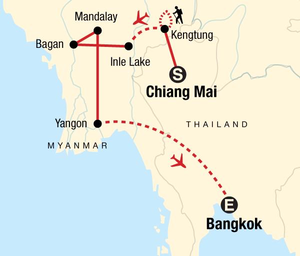 Bagan Bangkok Myanmar on a Shoestring Trip