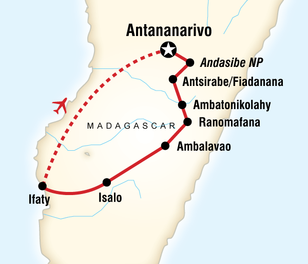 Safari Culture Highlights of Madagascar package