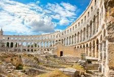 Exploring Roman Ruins on archaeology tour
