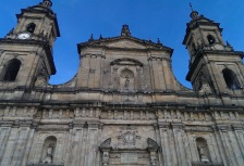 Bogota Cathedral in Colombia
