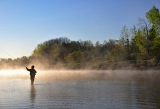 Relaxing Retreats tour fly fishing top activity