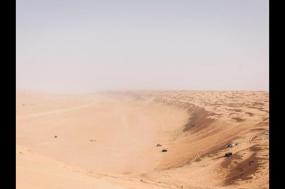 Arabian Sands Eclipse tour