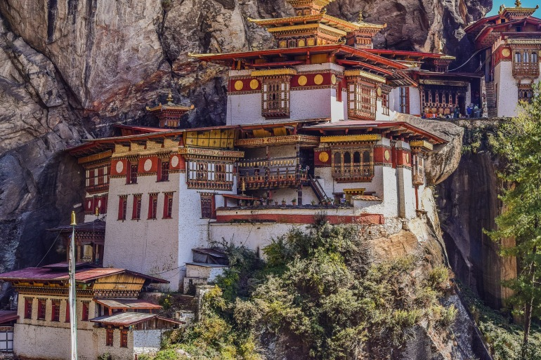 Beautiful mountain-Bhutan-2691190-P