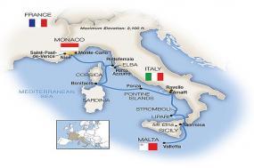 Treasures of the Mediterranean - Southbound 2018 tour