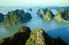 Ha Long Bay Cycle and Cruise tour