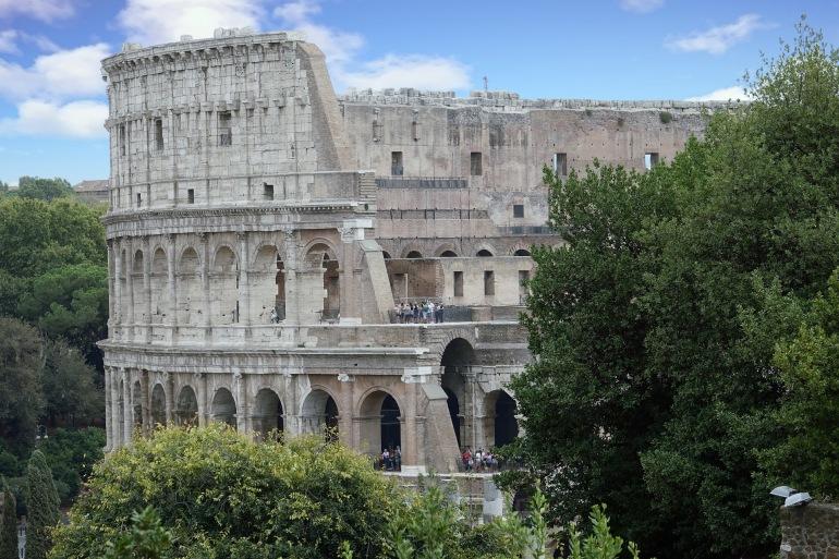 Architecture of Colosseun-Rome-2762412-P