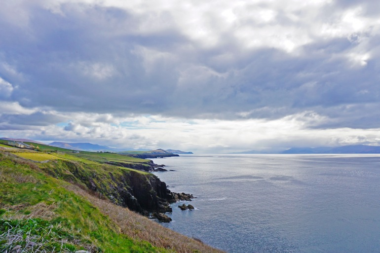 Landscape of Dingle Peninsula, Ireland