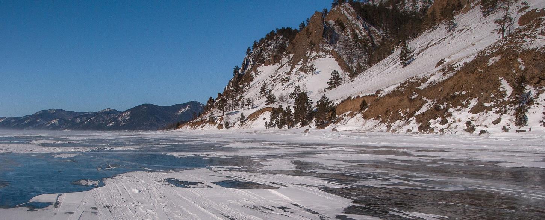 Siberia Lake Baikal frozen lake_Russia_ 3229154_P