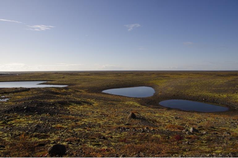 Snow Volcanic Landscape –Iceland- 1261193-P