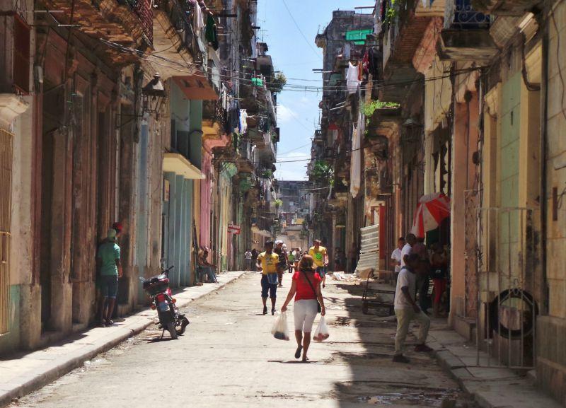 Street in Cuba