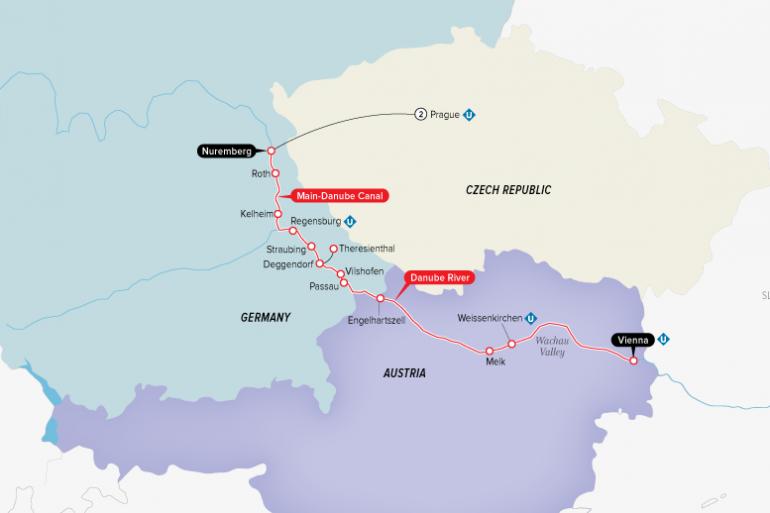 Bavaria Nuremberg Authentic Danube & Prague Trip