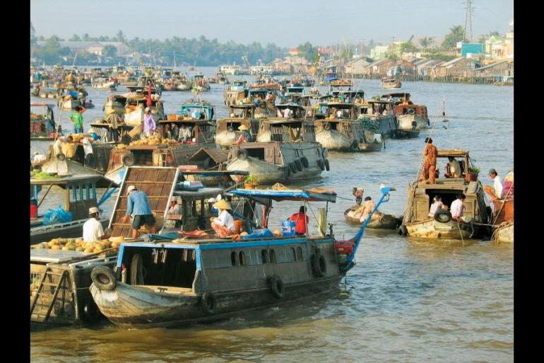 Education / Learning Cycling Mekong Delta and Angkor package