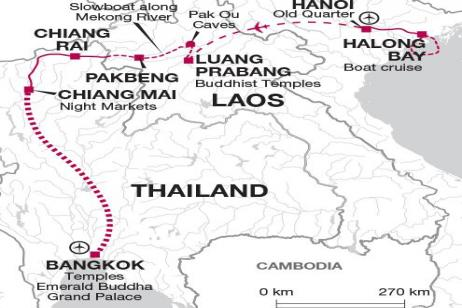 Simply Northern Indochina tour