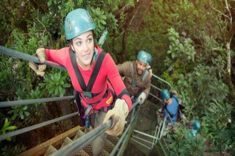 Trek Hidden Costa Rica tour