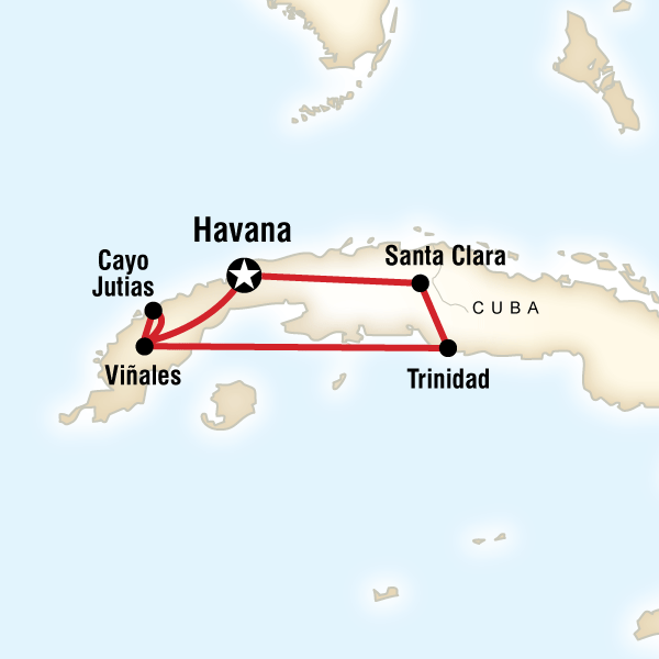 Caribbean Havana Cuban Rhythms Trip