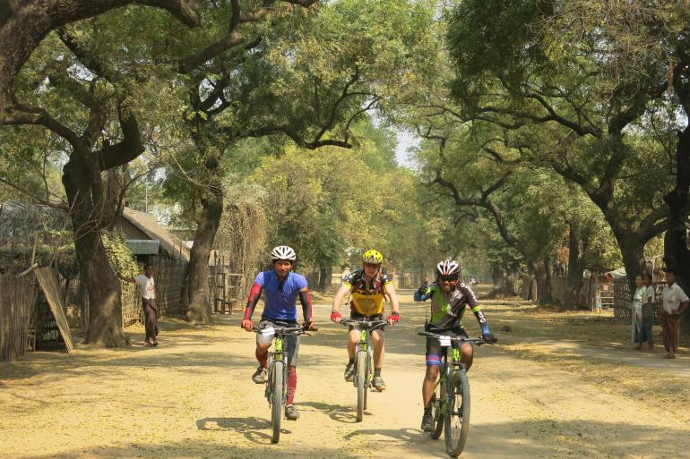 Cycle Myanmar (Burma) tour