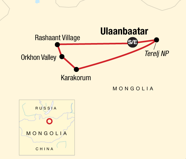 Cultural Culture Local Living Mongolia—Nomadic Life package