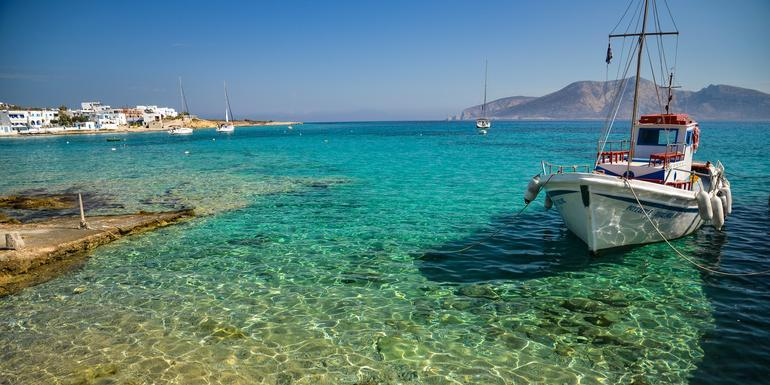 Sailing Greece - Athens to Mykonos tour