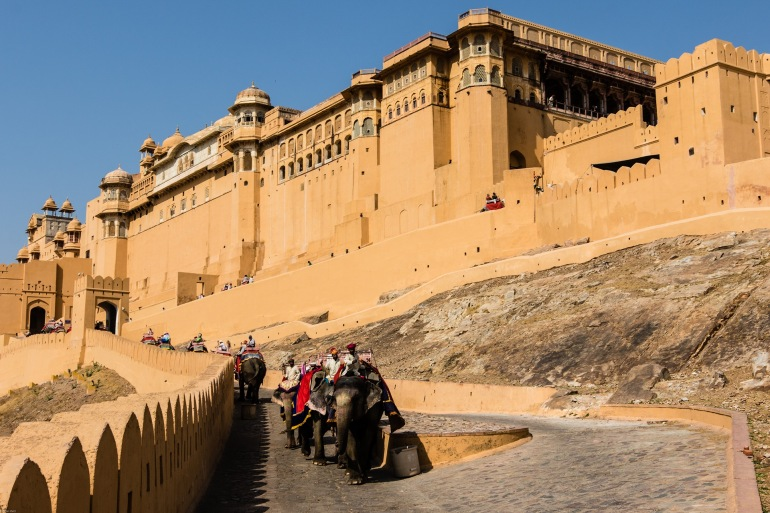 Amber Fort at Jaipur, India_P