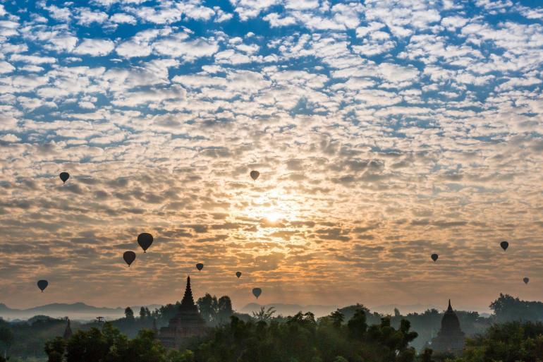 Bagan Mandalay Cycle Myanmar (Burma) Trip