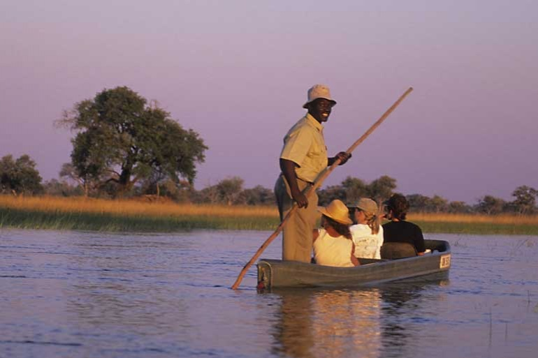 Botswana-mokoro