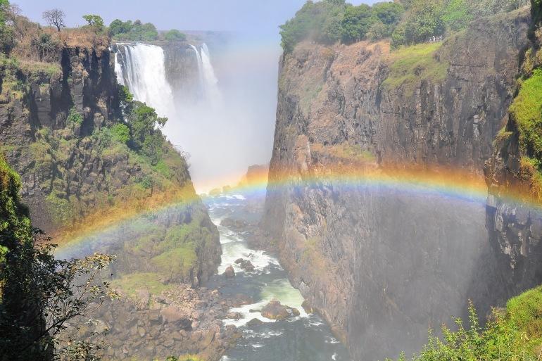Nature beautiful victoria waterfalls-Africa_3318389_p