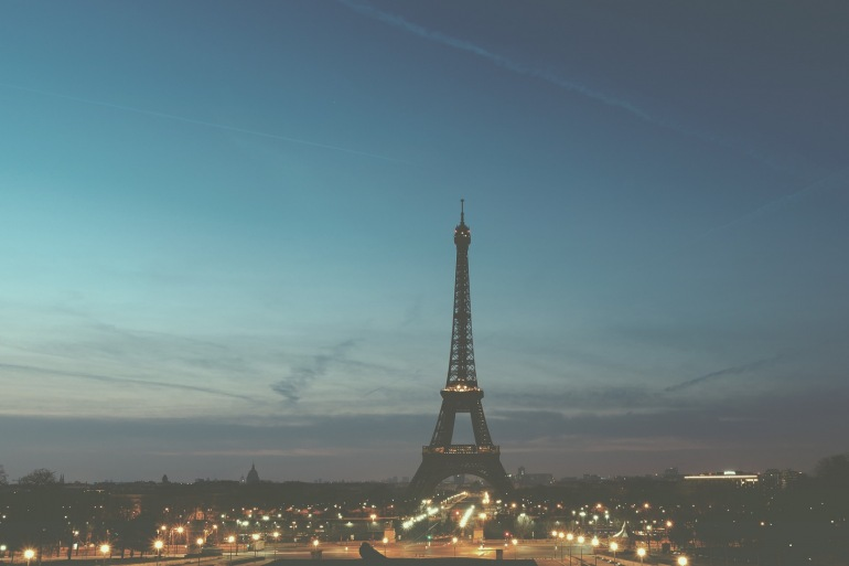 Night view of Eiffel tower-Paris-1245970-1920-P