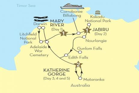 Kakadu - Australia's Secrets (Luxury Gold - Summer 2017) tour