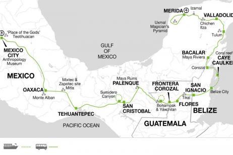 Contrasts of Mexico + Yucatan Peninsula Extension tour