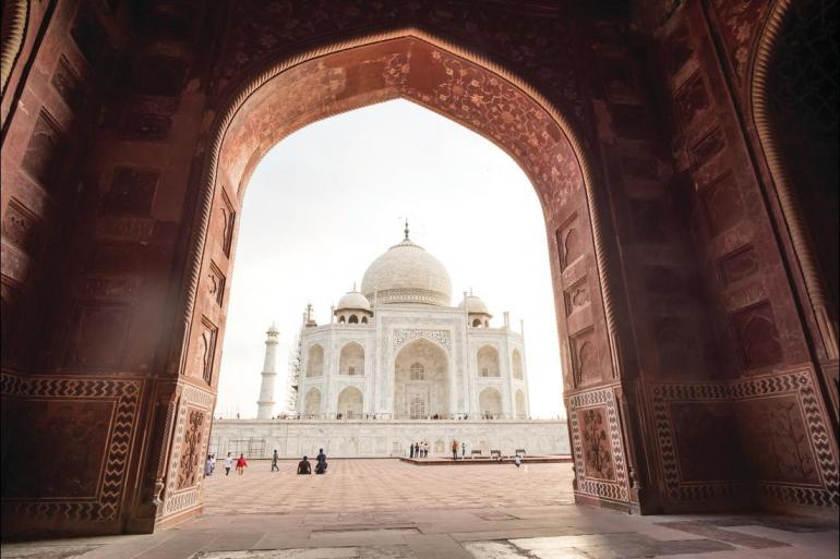 Agra Amber Fort Northern India Family Holiday for Solo Parents Trip