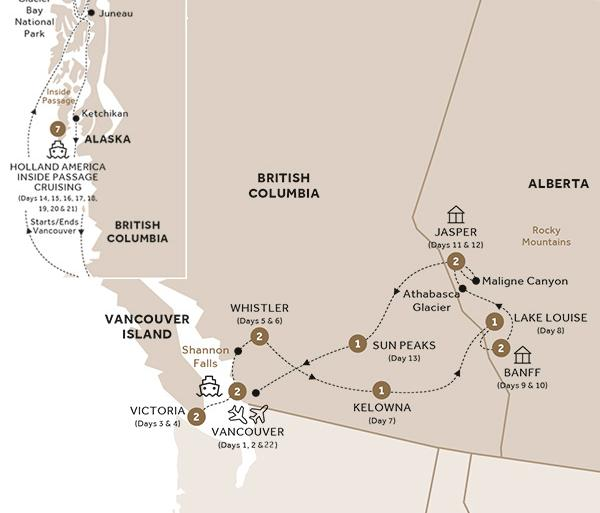 Majesty of the Rockies and Alaska Cruise Ocean View Stateroom (Summer 2018) tour