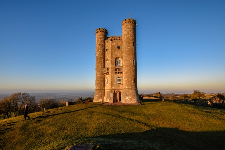 View of Broadway Tower, England