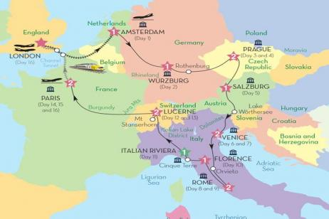 European Discovery (Preview 2018) tour