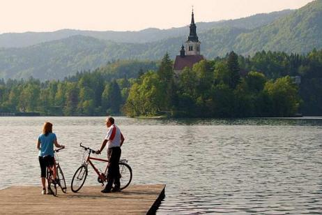 Self-Guided Cycling in Slovenia: Lake Bled tour