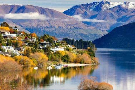 Contrasts of New Zealand Summer 2017 tour