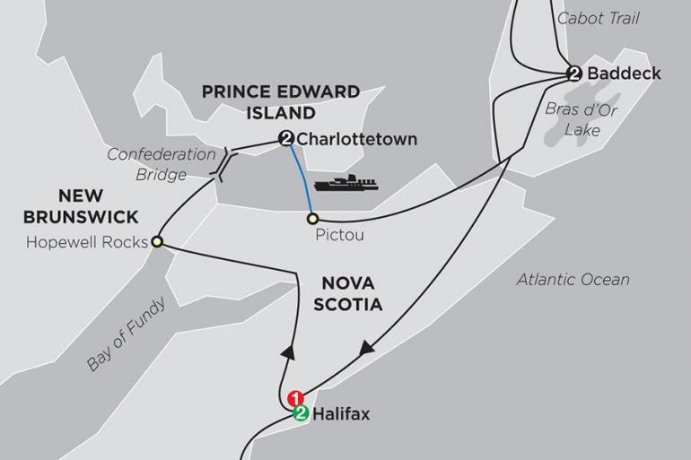 Nova Scotia Prince Edward Island Atlantic Canada's Coastal Wonders Trip