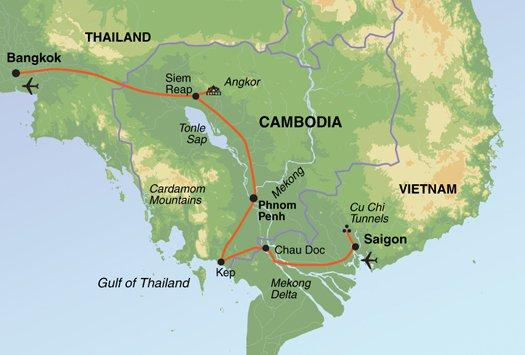 Phnom Penh Saigon South East Asia Adventure Family Holiday Trip