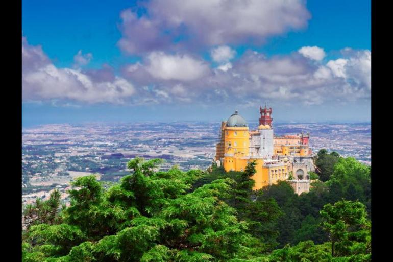 Self-Guided walking in Sintra, Portugal tour