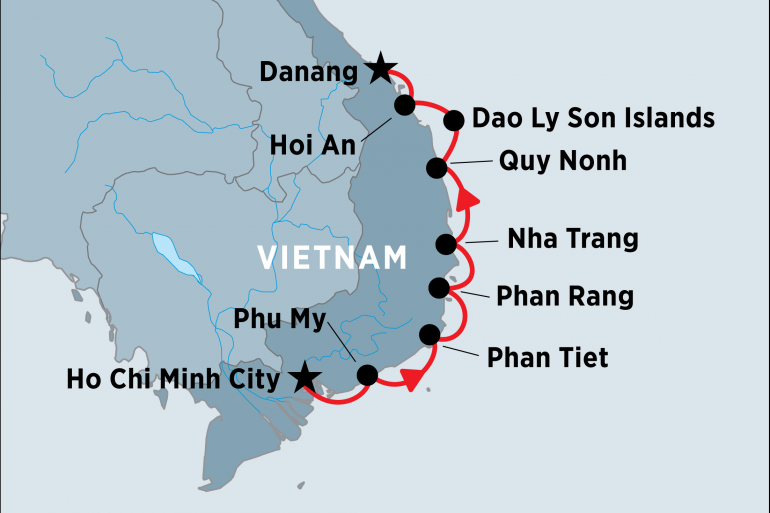 Cultural Culture South Vietnam Coastal Cruising: Ho Chi Minh to Hoi An package