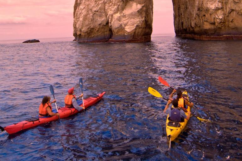 Galapagos Kayaking Expedition tour