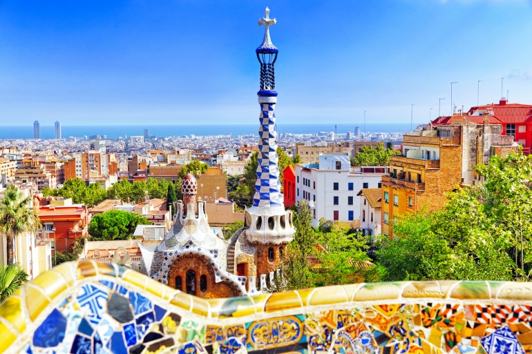 Barcelona City View, Spain