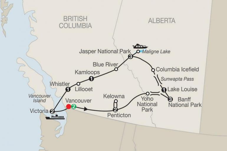 Alberta Banff National Park Western Canada Explorer Trip