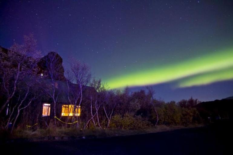 Cultural Adventure & Adrenaline Northern Lights and Ice Cave Adventure (2 Days) package
