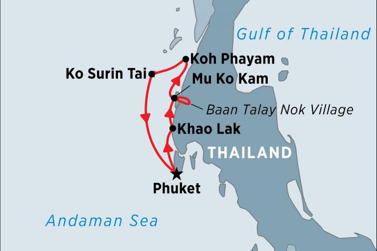 Cultural Culture Cruising the Thai Islands from Phuket package
