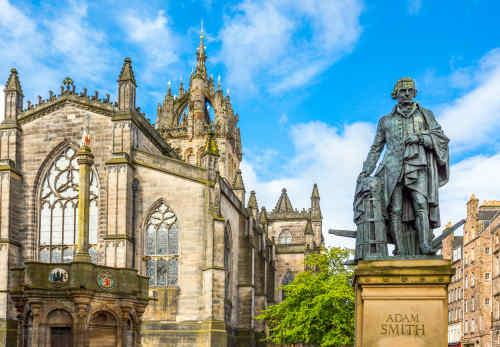 Edinburgh & Glasgow by Rail tour