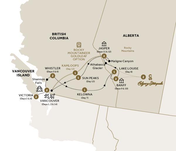 Majesty of the Rockies and Alaska Cruise Verandah Stateroom (Summer 2018) tour