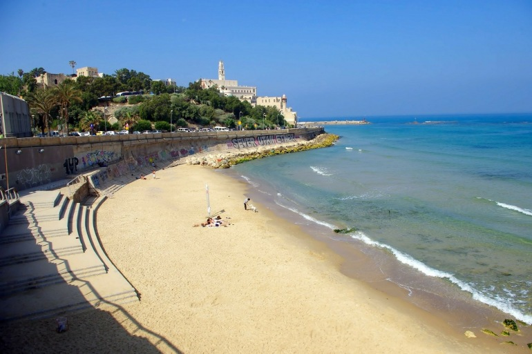 Holiday Beach at Jaffa, Israel
