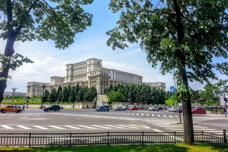 Parliament Palace - Bucharest_p