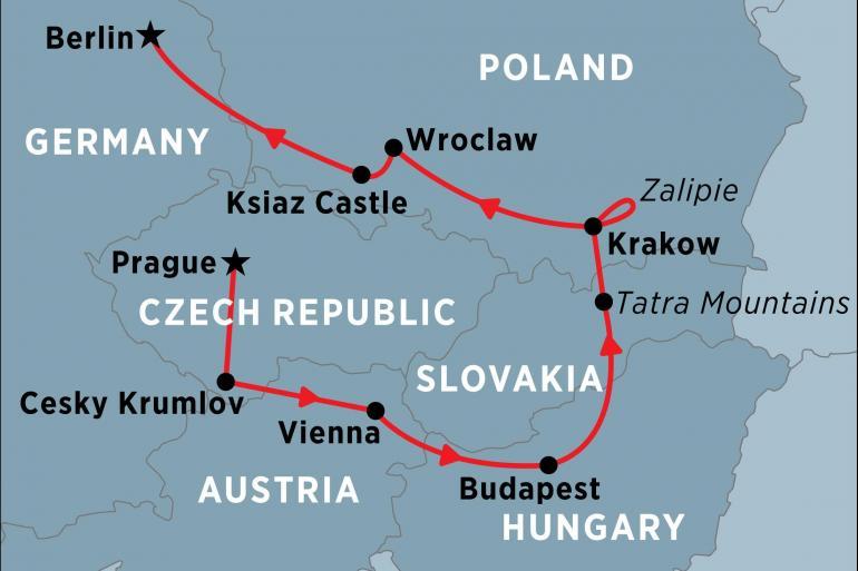 Krakow Prague Central Europe Unveiled Trip