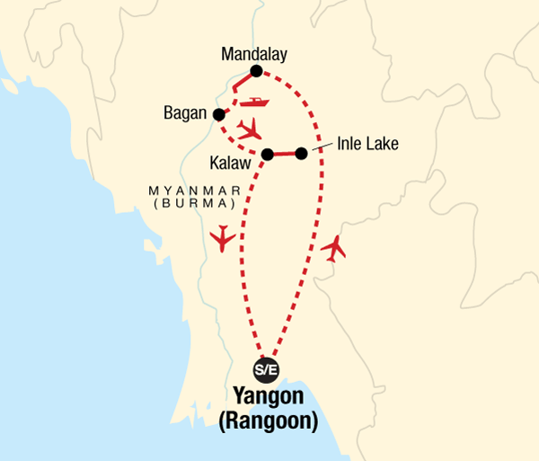 Bagan Mandalay The Heart of Myanmar (Burma) Trip